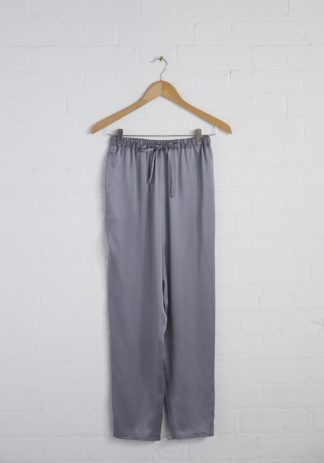 TweedySmith Audrey Pants in Silver Satin