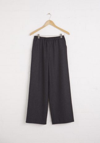 TweedySmith Brodie Pants in Charcoal Flannel