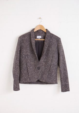 TweedySmith Hepburn Jacket in Donegal Tweed