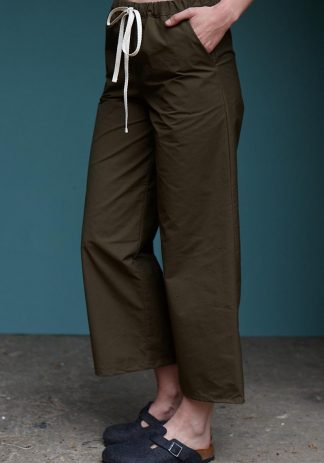 Ingalls Pants in Khaki Cotton